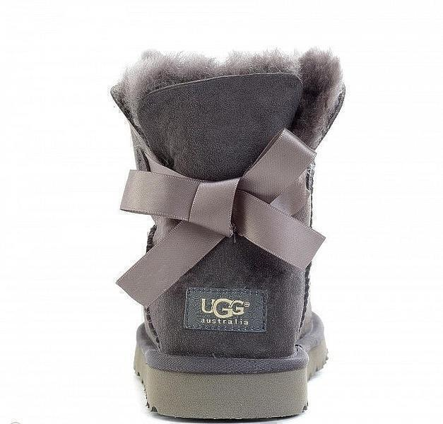 UGG Bailey Bow Mini Grey фото #4 в «GetKeds»