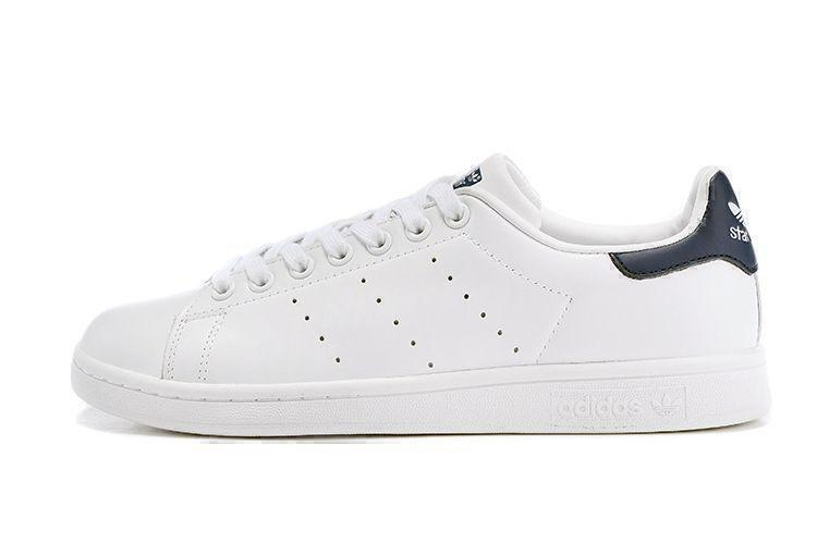 Adidas Stan Smith (White White/Deep Blue) фото #2 в «GetKeds»