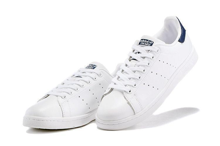 Adidas Stan Smith (White White/Deep Blue) фото #3 в «GetKeds»