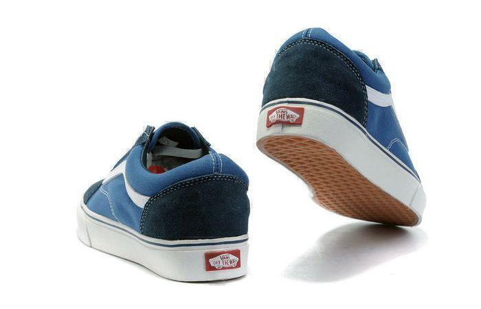 Vans Old Skool Low (Blue/White) фото #3 в «GetKeds»