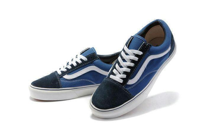Vans Old Skool Low (Blue/White) фото #2 в «GetKeds»
