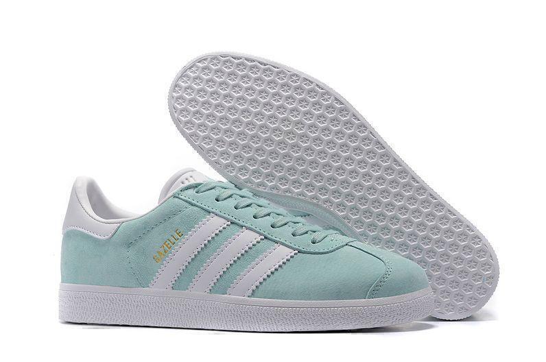Кроссовки Adidas Gazelle Ice Mint (Mint/White) фото в «GetKeds»