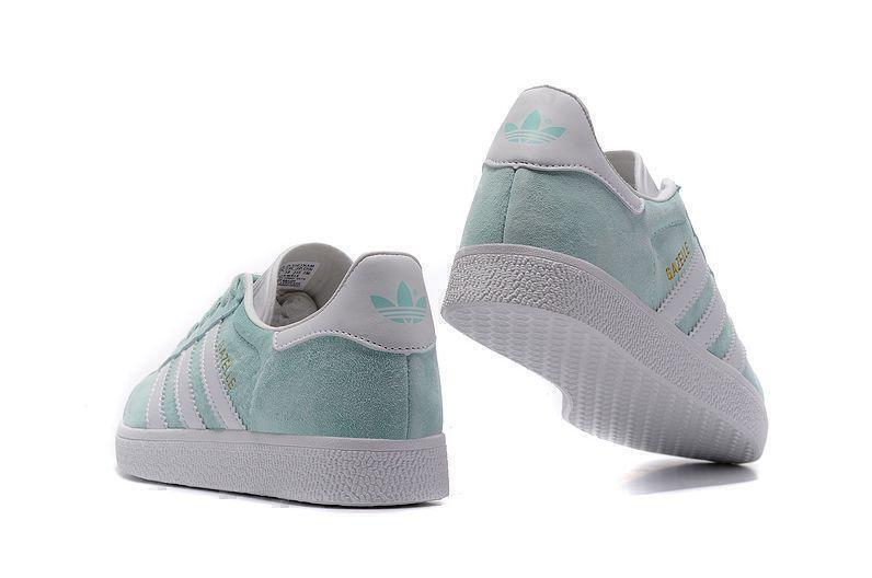Adidas Gazelle Ice Mint (Mint/White) фото #4 в «GetKeds»