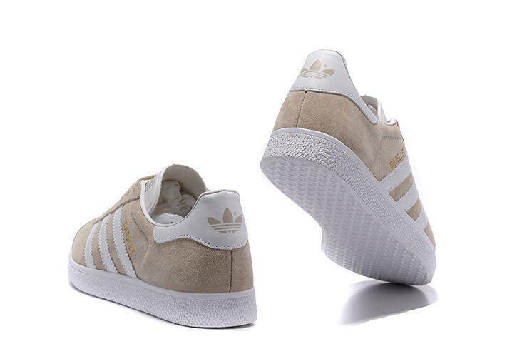 Adidas Gazelle (Beige/White) фото #4 в «GetKeds»