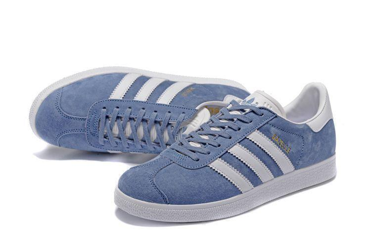 Adidas Gazelle (Moon Blue) фото #2 в «GetKeds»