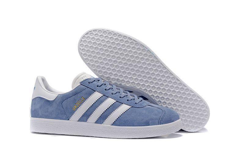 Кроссовки Adidas Gazelle (Moon Blue) фото в «GetKeds»