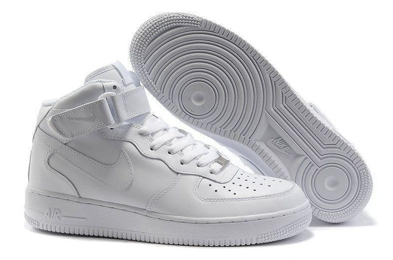 Кроссовки Nike Air Force 1 High (White) фото в «GetKeds»