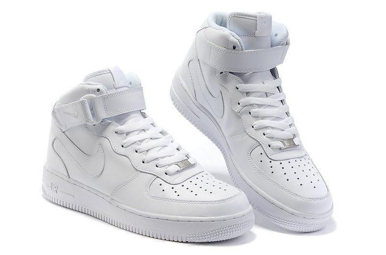 Nike Air Force 1 High (White) фото #2 в «GetKeds»