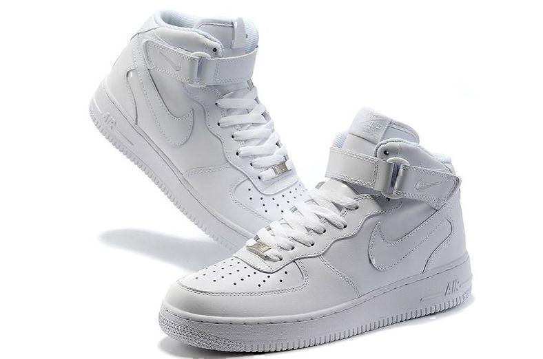 Nike Air Force 1 High (White) фото #3 в «GetKeds»