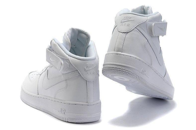 Nike Air Force 1 High (White) фото #4 в «GetKeds»