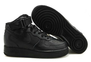 Кроссовки Nike Air Force 1 High (black)-AF1106GK