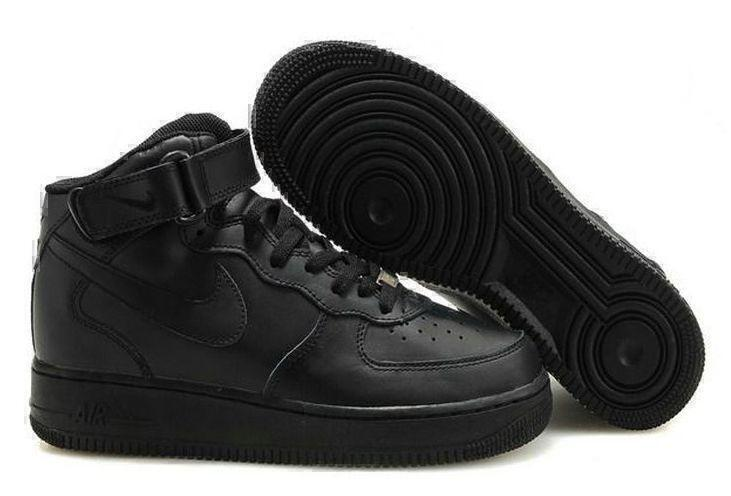Кроссовки Nike Air Force 1 High (black) фото в «GetKeds»
