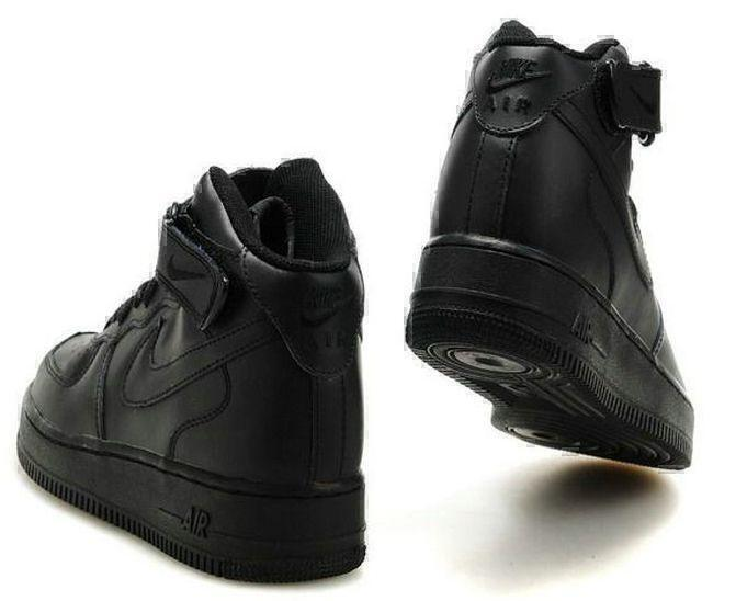 Nike Air Force 1 High (black) фото #3 в «GetKeds»