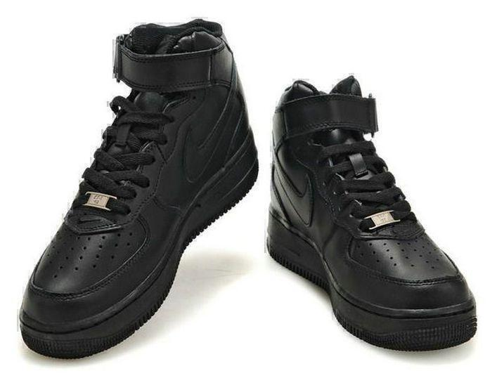 Nike Air Force 1 High (black) фото #2 в «GetKeds»