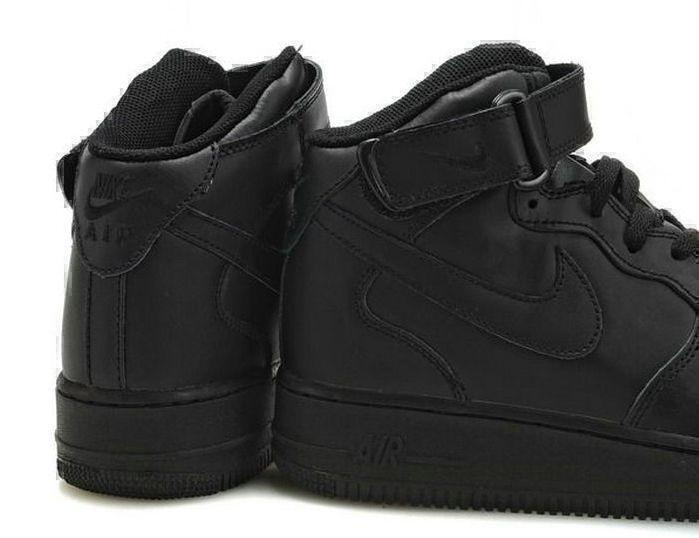 Nike Air Force 1 High (black) фото #4 в «GetKeds»