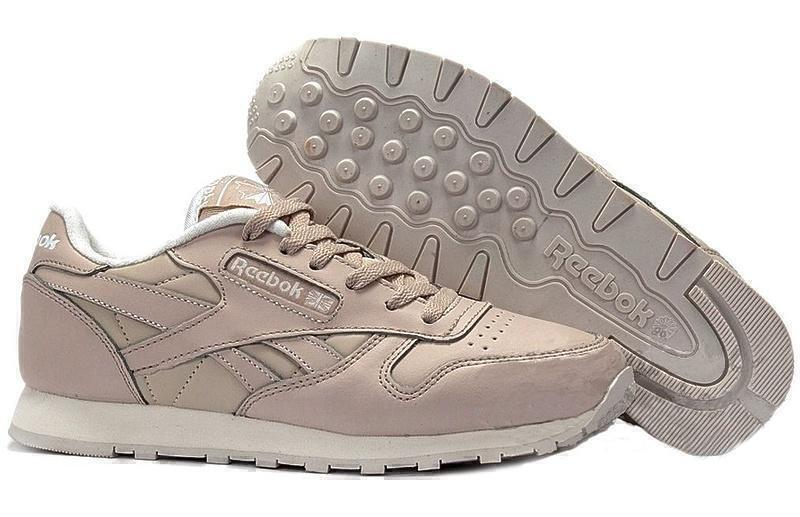 Reebok Classic Leather (Light Beige) фото #2 в «GetKeds»