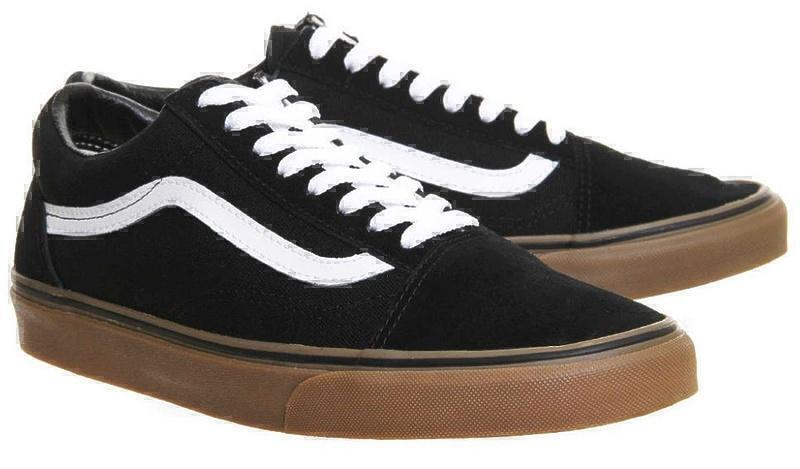 Vans Old Skool (Black/White/Brown) фото #3 в «GetKeds»