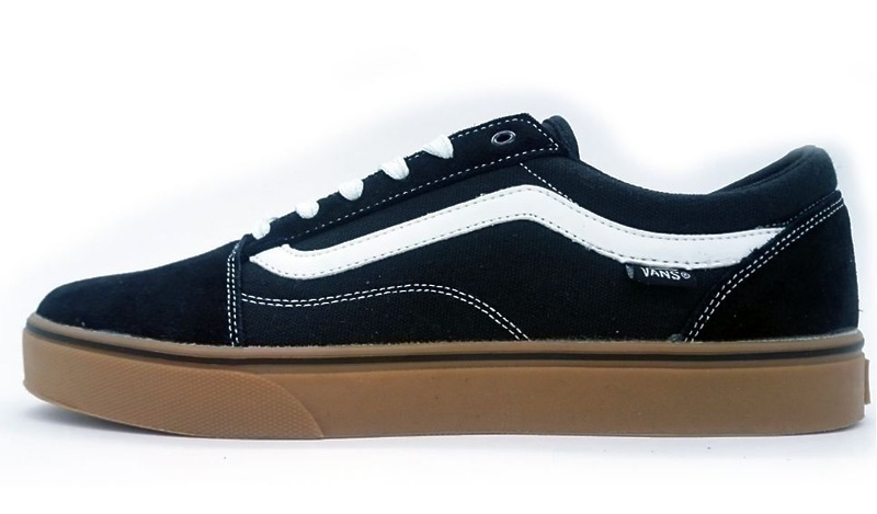 Vans Old Skool (Black/White/Brown) фото #2 в «GetKeds»