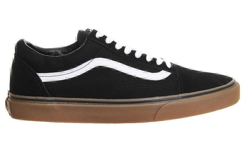 Кеды Vans Old Skool (Black/White/Brown) фото в «GetKeds»