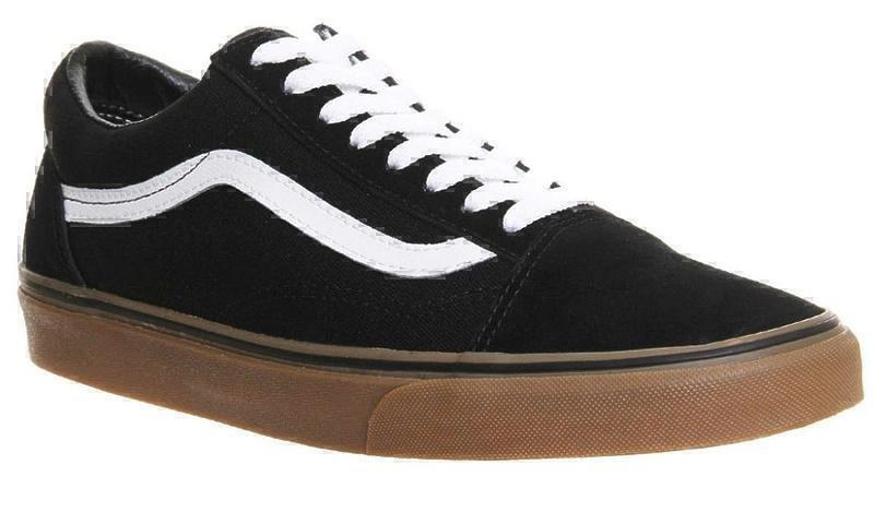 Vans Old Skool (Black/White/Brown) фото #4 в «GetKeds»