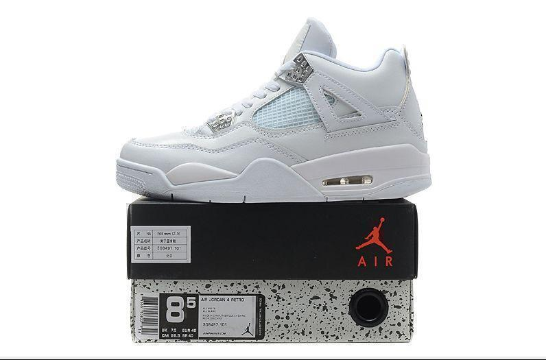 Air Jordan 4 Retro (White) фото #8 в «GetKeds»