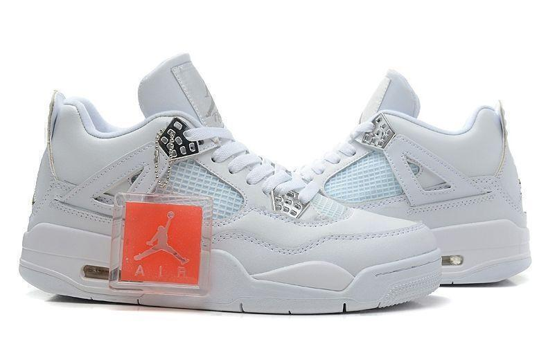 Air Jordan 4 Retro (White) фото #2 в «GetKeds»