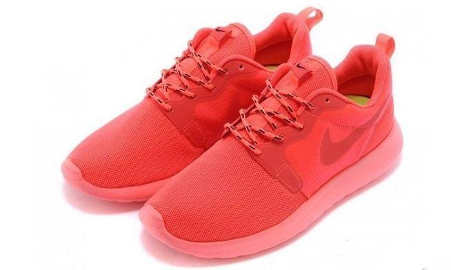 Nike Roshe Run Hyperfuse QS (pink) фото #4 в «GetKeds»