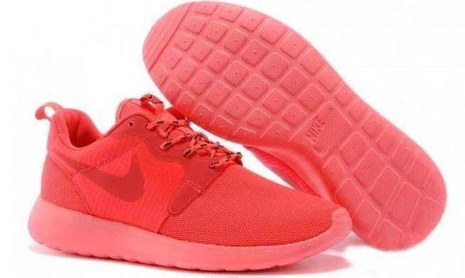 Кроссовки Nike Roshe Run Hyperfuse QS (pink) фото в «GetKeds»