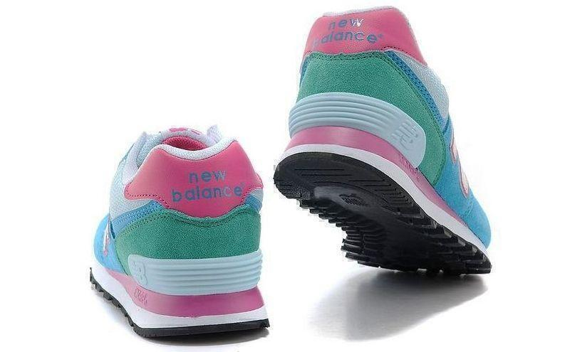 New Balance 574 Hologram (Blue/Pink) фото #4 в «GetKeds»