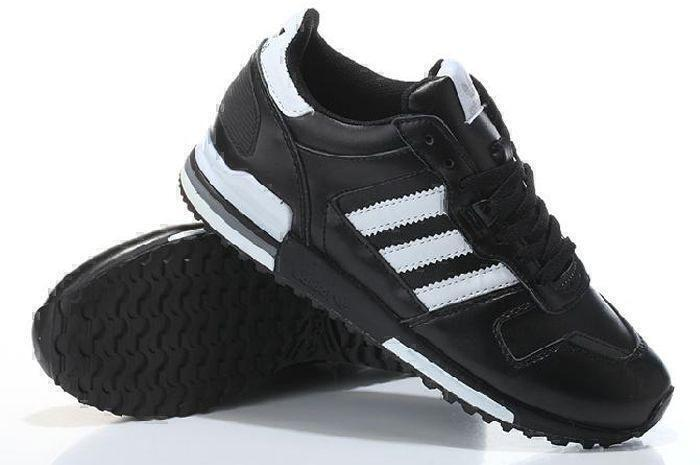 Adidas ZX 700 Leather (Black/White) фото #2 в «GetKeds»