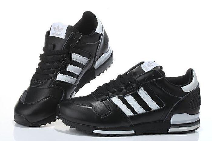 Adidas ZX 700 Leather (Black/White) фото #3 в «GetKeds»