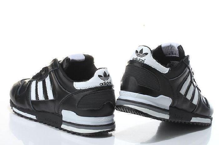Adidas ZX 700 Leather (Black/White) фото #4 в «GetKeds»