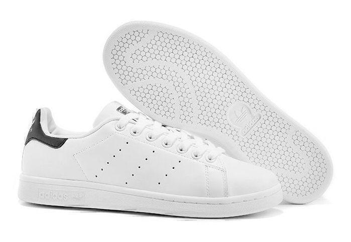 Кроссовки Adidas Stan Smith (White/Black) фото в «GetKeds»