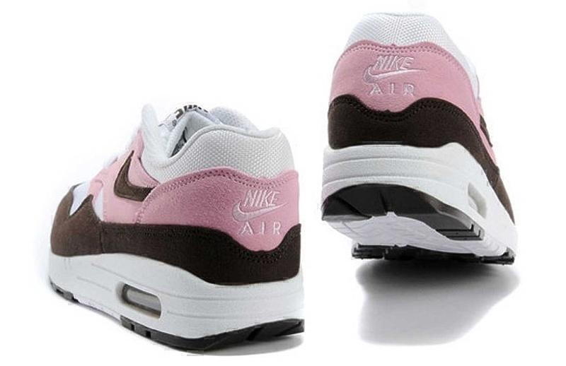 Nike Air Max 1 (87) (Pink/Brown/White) фото #3 в «GetKeds»