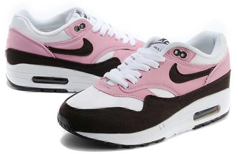 Nike Air Max 1 (87) (Pink/Brown/White) фото #4 в «GetKeds»