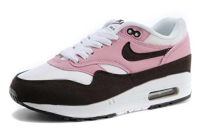 Nike Air Max 1 (87) (Pink/Brown/White) фото #2 в «GetKeds»