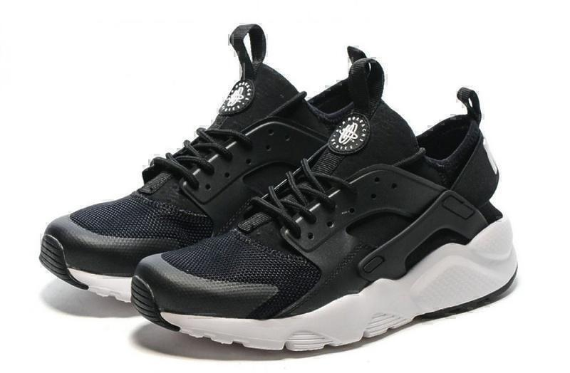 Nike Air Huarache Ultra BR (Black/White) фото #2 в «GetKeds»