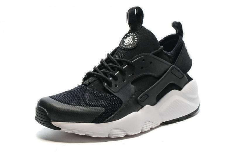 Nike Air Huarache Ultra BR (Black/White) фото #3 в «GetKeds»