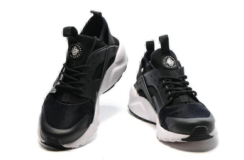 Nike Air Huarache Ultra BR (Black/White) фото #4 в «GetKeds»
