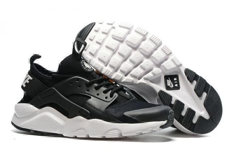 Кроссовки Nike Air Huarache Ultra BR (Black/White) фото в «GetKeds»