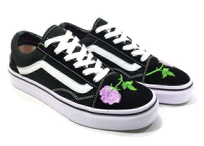 Vans Old Skool (Black/White/Rose) фото #3 в «GetKeds»