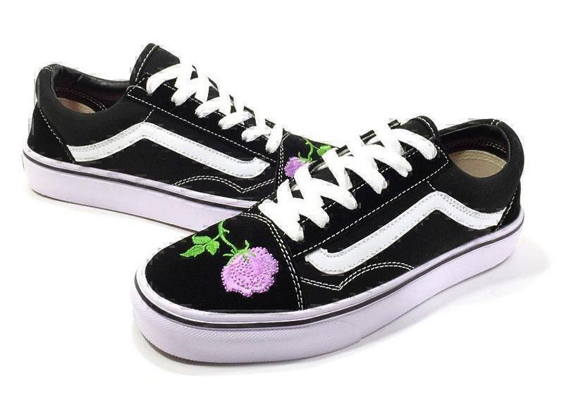 Vans Old Skool (Black/White/Rose) фото #4 в «GetKeds»