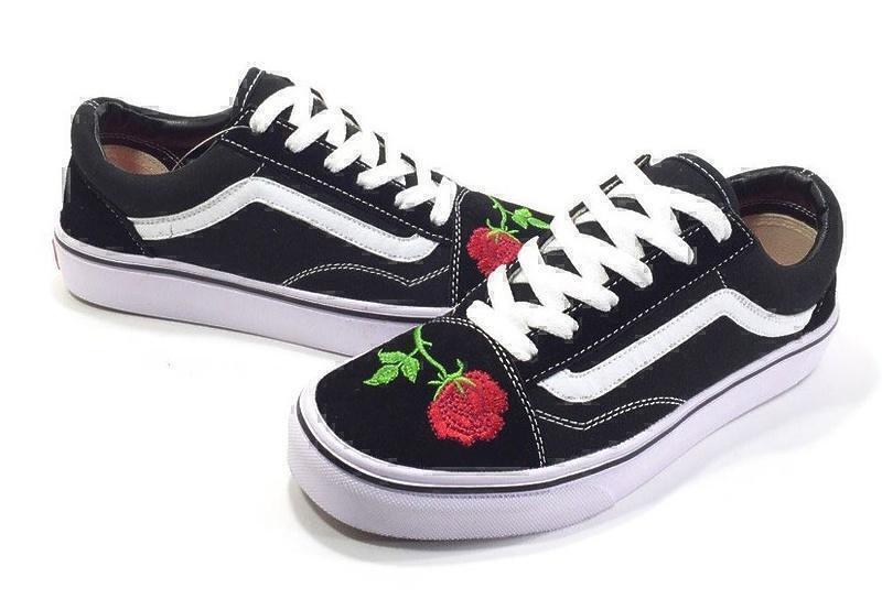 Vans Old Skool (Black/Red) фото #4 в «GetKeds»
