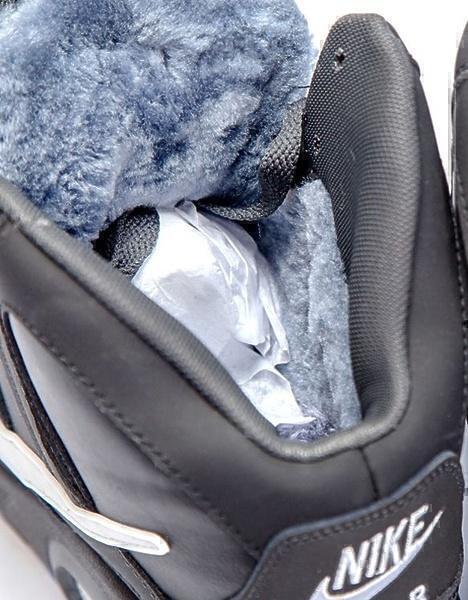 Nike Air Max Skyline High with Fur (Black/White/Blue) фото #3 в «GetKeds»