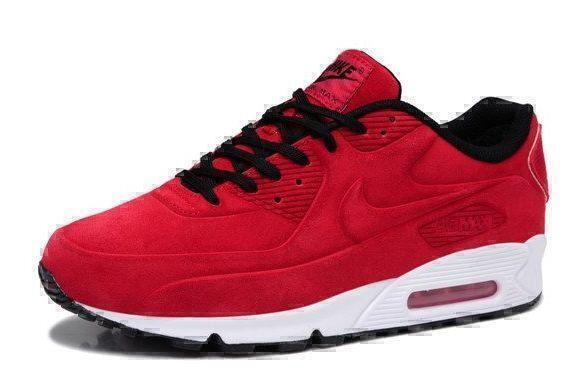 Nike Air Max 90 VT With Fur (Red/White) фото #2 в «GetKeds»
