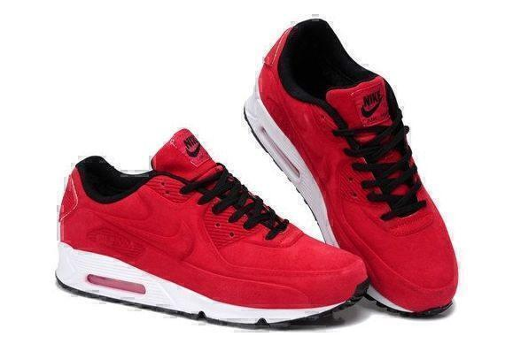 Nike Air Max 90 VT With Fur (Red/White) фото #3 в «GetKeds»
