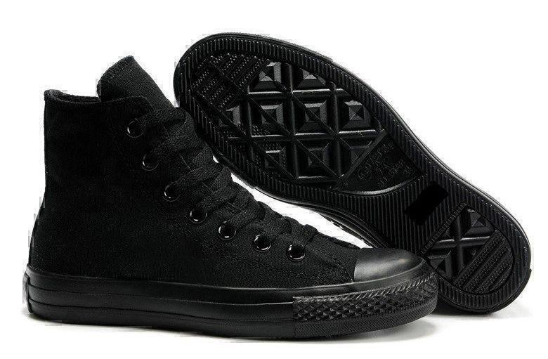 Кеды Converse Chuck Taylor All Star High (Black)-ct1325GK