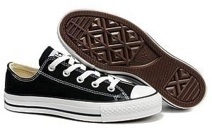 Кеды Converse Chuck Taylor All Star Low (Black/White)-ct1326GK
