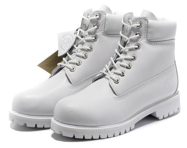 Ботинки Timberland 6 Inch Premium Waterproof Boots (Ghost White) фото в «GetKeds»