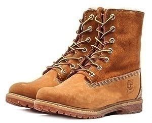Ботинки Timberland Teddy Fleece (Wheat Nubuck) (C мехом)-RT3330GK